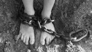 esclave chaînes