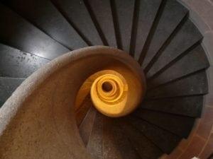 escalier profondeur