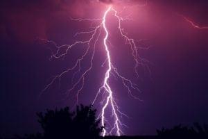 foudre orage